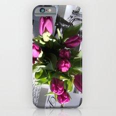 Purple Tulips iPhone 6 Slim Case