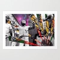 Butterfly Riddim Art Print