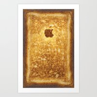 Toasted Art Print