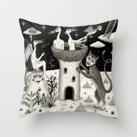 Scissors, String And Sol… Throw Pillow