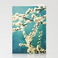 Waiting for Spring to Bloom Stationery Cards