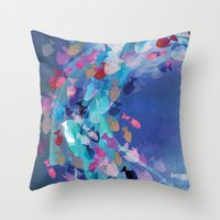Lucid Lagoon  Throw Pillow