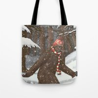 Everyone Gets Cold Tote Bag