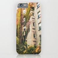 Autumn - New York City - East Village Garden iPhone 6 Slim Case