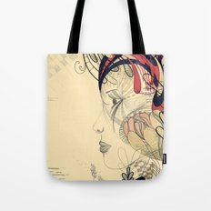 flame flower Tote Bag