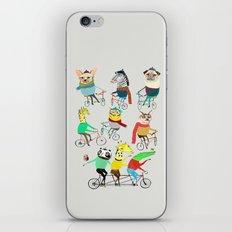 Bikers. iPhone & iPod Skin