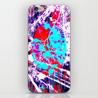 fantasy abstract design 66666 iPhone & iPod Skin