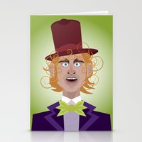 Willy Wonka From Charlie… Stationery Cards