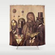 Victorian Wars  Shower Curtain