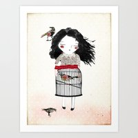 Lady Bird Art Print