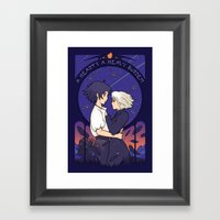 Something I Want to Protect (Dark Version) Framed Art Print