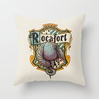 HP Rocafort House Crest Throw Pillow