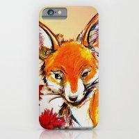 Fox in Sunset iPhone 6 Slim Case