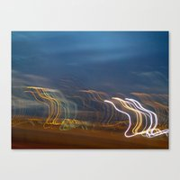 You Show the Lights Canvas Print