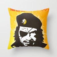 Call Me Big Boss Throw Pillow
