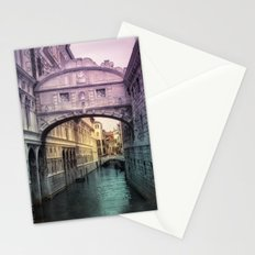 Ponte dei Sospiri | Bridge of Sighs - Venice (colored version) Stationery Cards