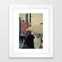 Digamos que se llama Sofía Framed Art Print