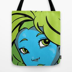 mermaid me happy Tote Bag