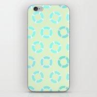 RING FLOAT PATTERN iPhone & iPod Skin