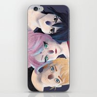 Immortals iPhone & iPod Skin