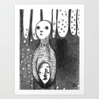Hello Darkness Art Print