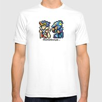 Homeboys (Cecil And Kain… Mens Fitted Tee White SMALL