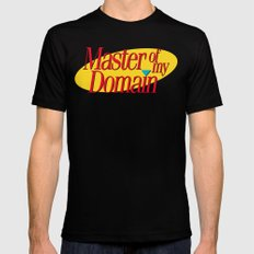 Master of my domain Black Mens Fitted Tee SMALL