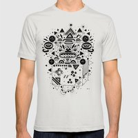 Costok 1 Mens Fitted Tee Silver SMALL