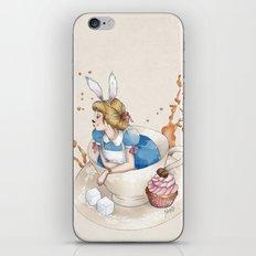 Tea Time in Wonderland iPhone & iPod Skin