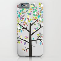 Tree Graphic 2 Colorful iPhone 6 Slim Case