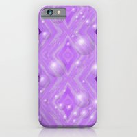 Purple Pattern Merry christmas iPhone 6 Slim Case