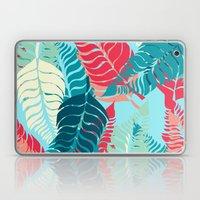 Leave Me Layered (Aqua R… Laptop & iPad Skin