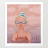 Art Print featuring Octopus by Fizzyjinks
