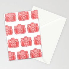 I Still Shoot Film Holga Logo - Red Stationery Cards