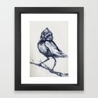 Do not kill the mockingbird Framed Art Print