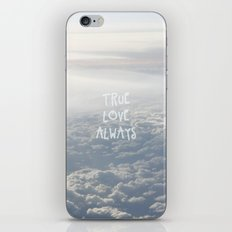 True Love Always iPhone & iPod Skin