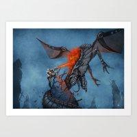 Chasing the Dragon Art Print