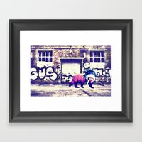 Bear Wall-king Framed Art Print