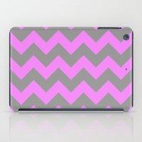 Chevron Pink iPad Case