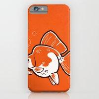 iPhone & iPod Case featuring Ryukin Goldfish by C Barrett