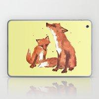 Lemon Foxes Laptop & iPad Skin