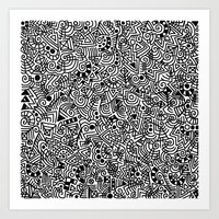 The Mash Art Print