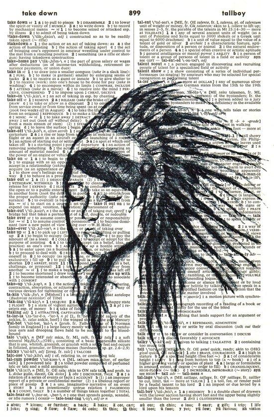 A Stranger  Art Print