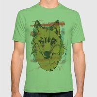 HOWL Mens Fitted Tee Grass SMALL