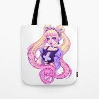 Pastel Goth Usagi (Glass… Tote Bag