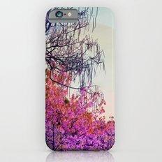 Dibujando un sol en el bosque iPhone 6 Slim Case