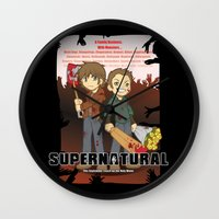 Supernatural - Goin To T… Wall Clock