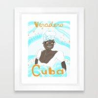 Bienvenido! Las Isla de Juventud Framed Art Print