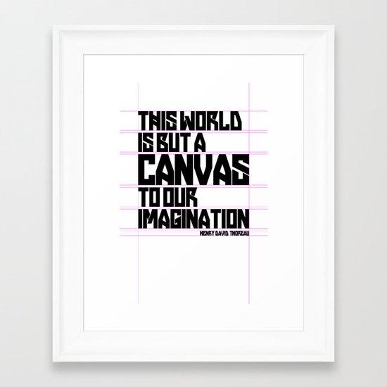 This World... Framed Art Print