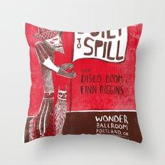 Built to Spill - Wonder Ballroom, Portland Throw Pillow